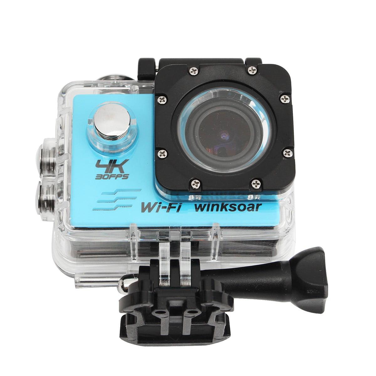 Winksoar Waterproof SJ8000 4K HD WiFi 2.0 LCD 170° Sports Action Camera DV Photography Birthday Christmas Gift