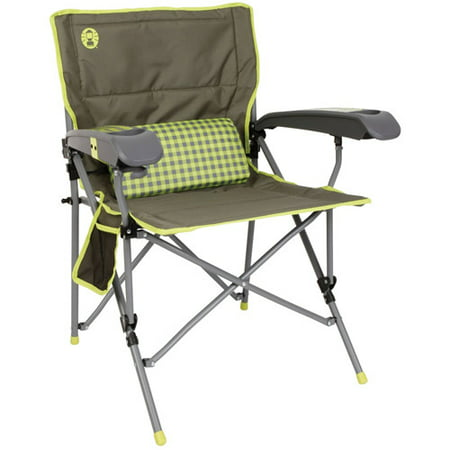Coleman Vertex Ultra Hard Arm Chair  Best Lime Check