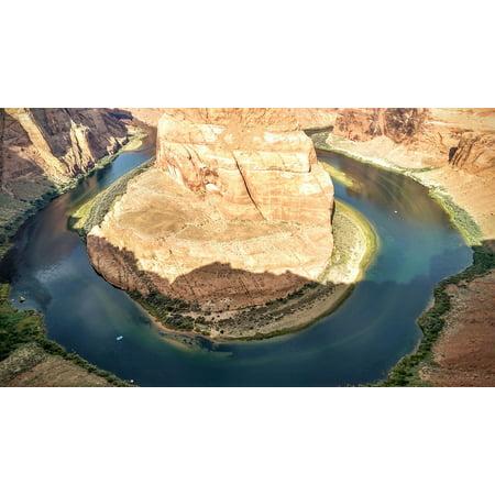 Horseshoe Bend Colorado River (Canvas Print Colorado River Horseshoe Bend Page Arizona Stretched Canvas 10 x)