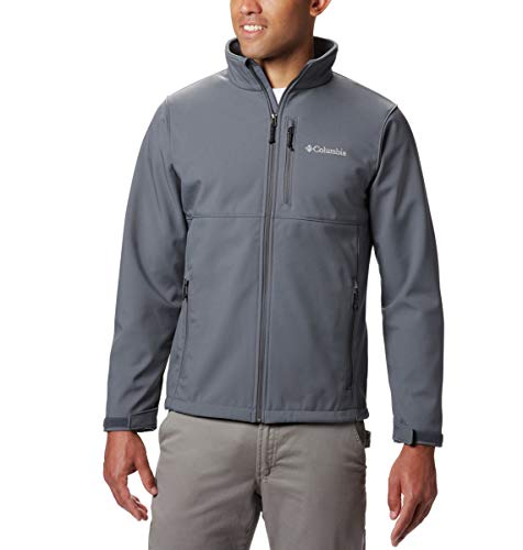 Columbia 155653 Mens Ascender™ Wind/&Water Resistant Softshell Jacket S-XL,2XL,3X