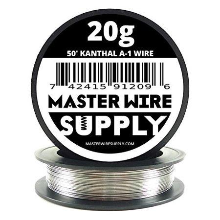 - kanthal a1 - 50' - 20 gauge resistance wire