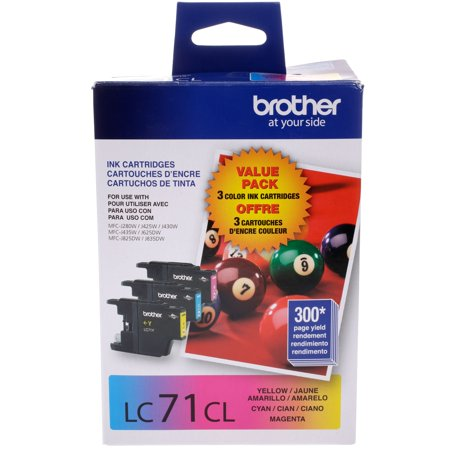 Brother Three Color Ink Cartridges (Ink Cartridges Brother Lc 75)