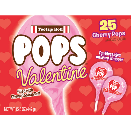 Tootsie Roll Pops Valentine Cherry Pops