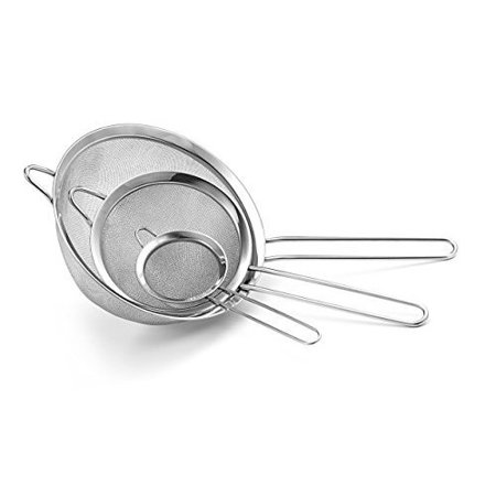CUL Distributors Culina 3 Piece Stainless Steel Strainer Set