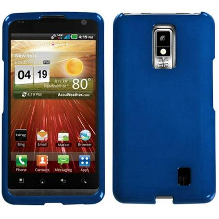 LG VS920 Spectrum MyBat Protector Case, Solid Dark Blue