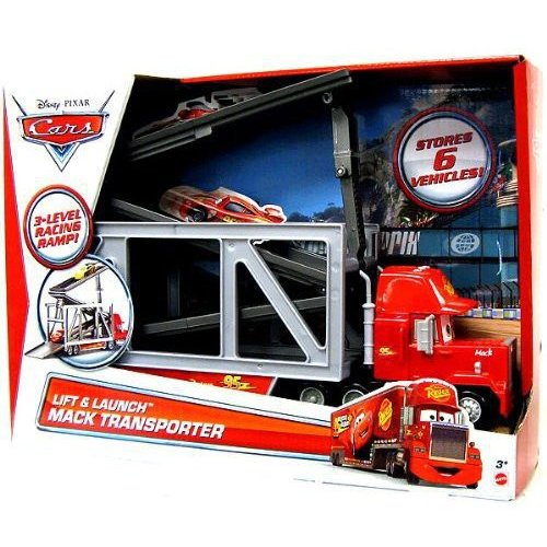 Disney Cars Lift and Launch Mack Transporter