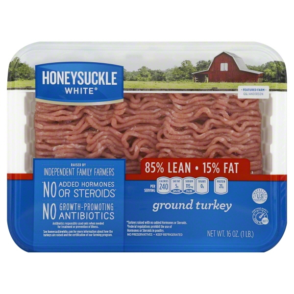 Cargill Meat Solutions Honeysuckle White  Turkey, 16 oz