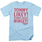 Tommy Boy Want Wingey Mens Short Sleeve Shirt