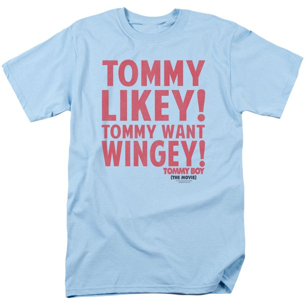 TOMMY BOY/WANT WINGEY-S/S ADULT 18/1 - LIGHT BLUE - 5X