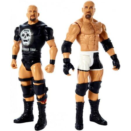 WWE Goldberg vs Stone Cold Steve Austin 2-Pack (Wwe Latest News On Stone Cold Steve Austin)