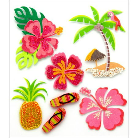 Jolee's Boutique Dimenisional Stickers-Hawaiian