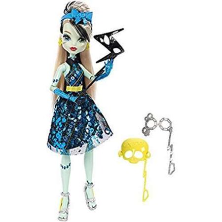 Monster High Welcome To Monster High Frankie Stein Doll - Monster High Halloween Doll
