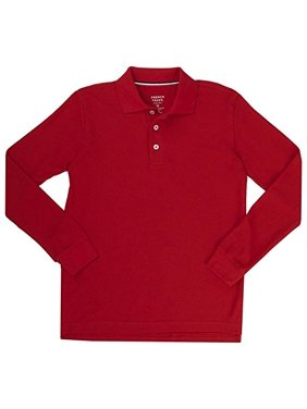 Red Toddler Boys Polos