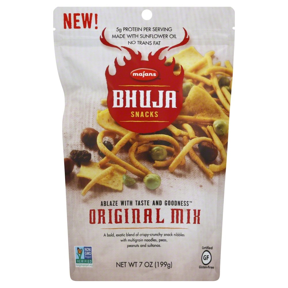 BHUJA Original mix, 7 Ounce Bags