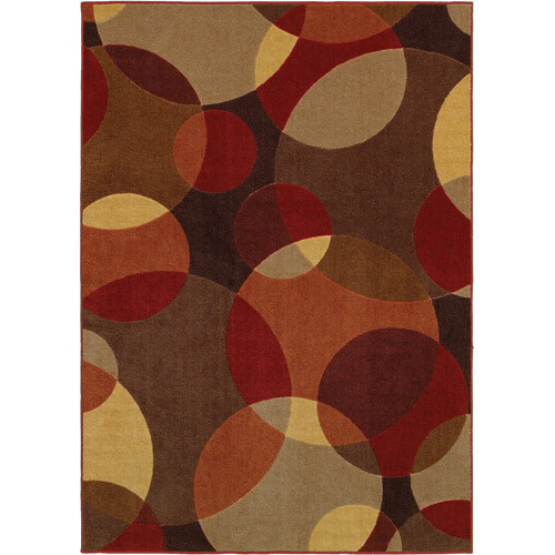 """Better Homes and Gardens Dawn Carved Print Rug, 4'11"""" x 7"""""""
