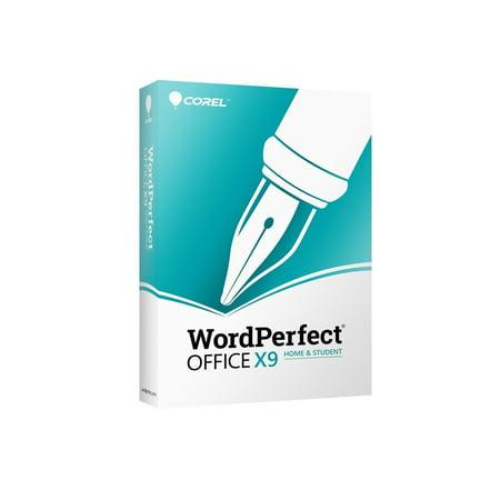Corel WordPerfect Office X9 Home & Student