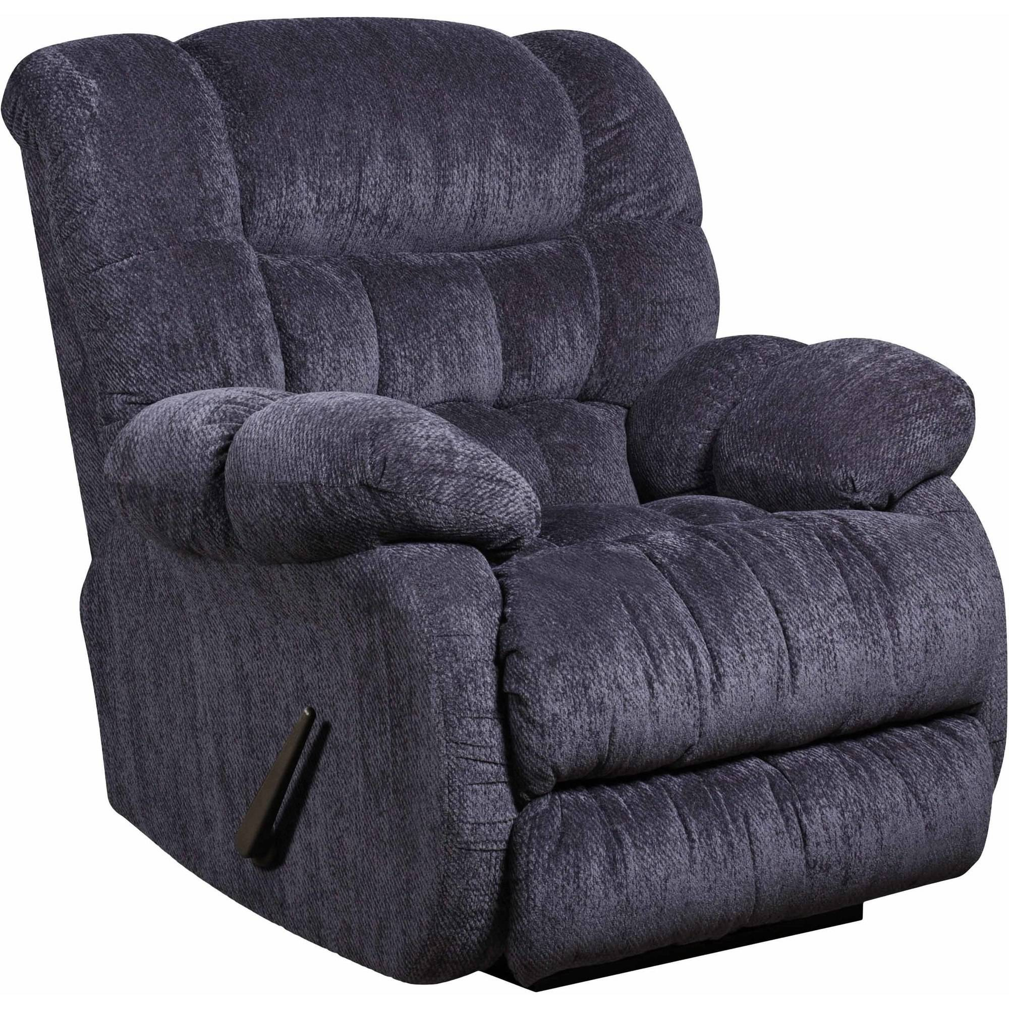 Flash Furniture Contemporary Columbia Blue Microfiber Rocker Recliner, Multiple Colors