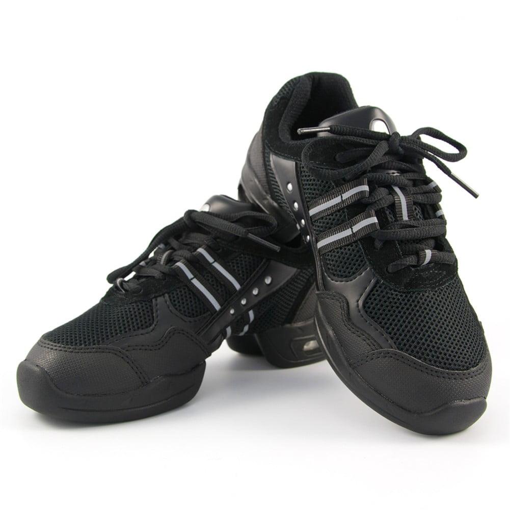 Sansha Adult Black P Split Sole Flight Low Top Sneakers Medium Womens
