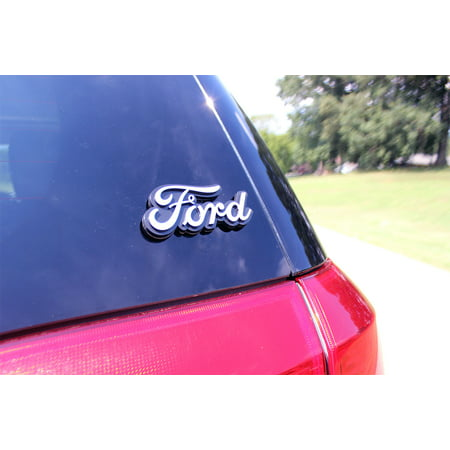 Chroma Graphics Ford Injection Molded Emblem AC 9114