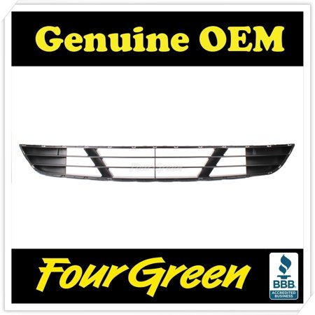Genuine Lower Bumper Grill for Hyundai GENESIS Sedan 2012-2014 OEM [865613M500]