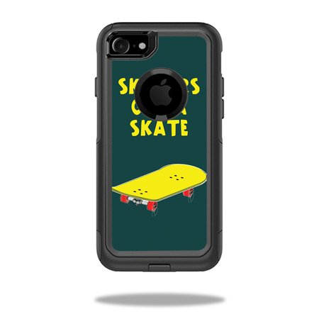 Skin For OtterBox Commuter iPhone 7 Case – Skaters Gonna Skate | MightySkins Protective, Durable, and Unique Vinyl Decal wrap cover | Easy To Apply, Remove, and Change Styles | (Skate Case)