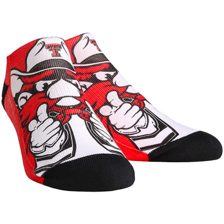 more photos 409eb 7250e Texas Tech Red Raiders Rock Em Socks Youth Mascot Low Socks - No Size