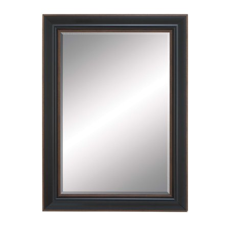 Beveled Mirror Framed With Super Solid Resin Wood