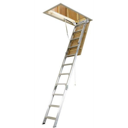 Werner Universal Aluminum Attic Stairs