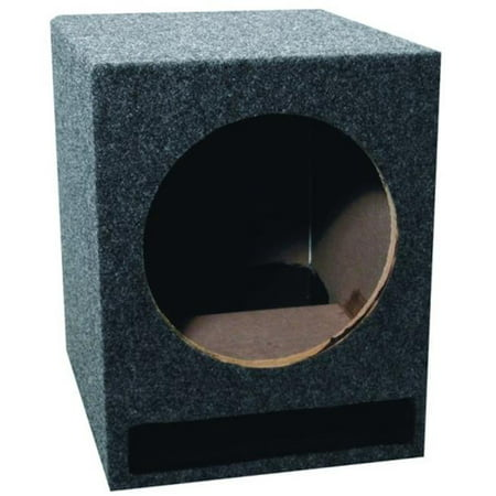Vented Woofer - SCY SB15V Single Bass 15 in. Vented Woofer Box Ebox