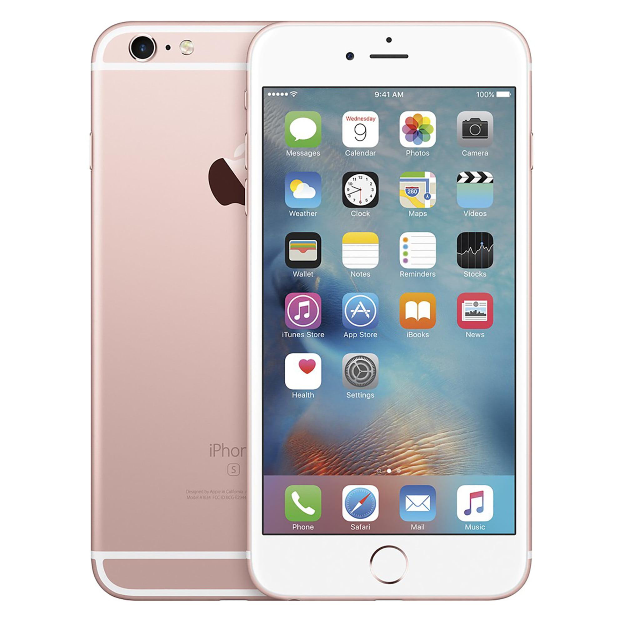 new concept 6bdad acb55 Refurbished Apple iPhone 6s Plus 128GB, Gold - Unlocked GSM/CDMA ...