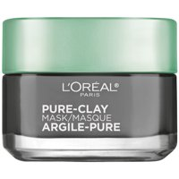 L'Oreal Paris Pure-Clay Mask Detox & Brighten with Charcoal for Dull Skin, 1.7 oz.