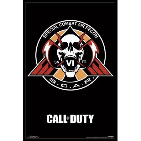 Call Of Duty Infinite Warfare   Scar Poster Poster Print