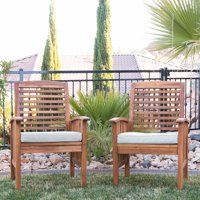 Ventana Outdoor Patio Chairs Set of 2 by Walker Edison LLC