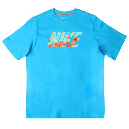 ef2ebfa6 Nike Big Boys' (8-20) Thermal Map Graphic T-Shirt-Blue - Walmart.com