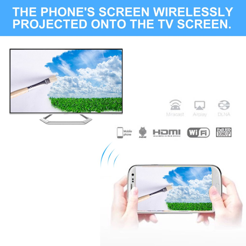Hot Sale AnyCast M2 Plus+ Airplay 1080P Wireless WiFi Dis...