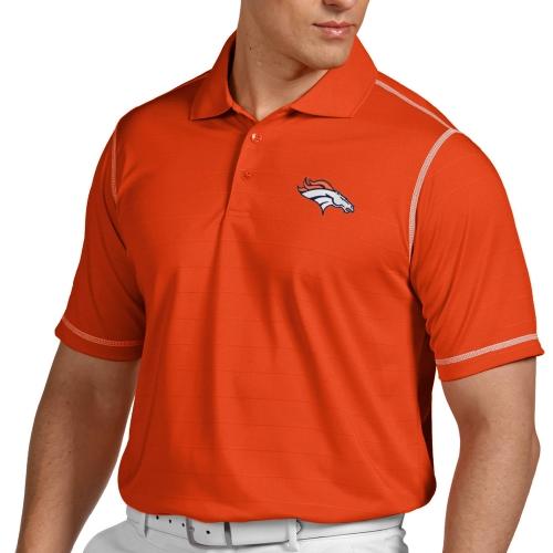 Antigua Denver Broncos Icon Polo - Orange