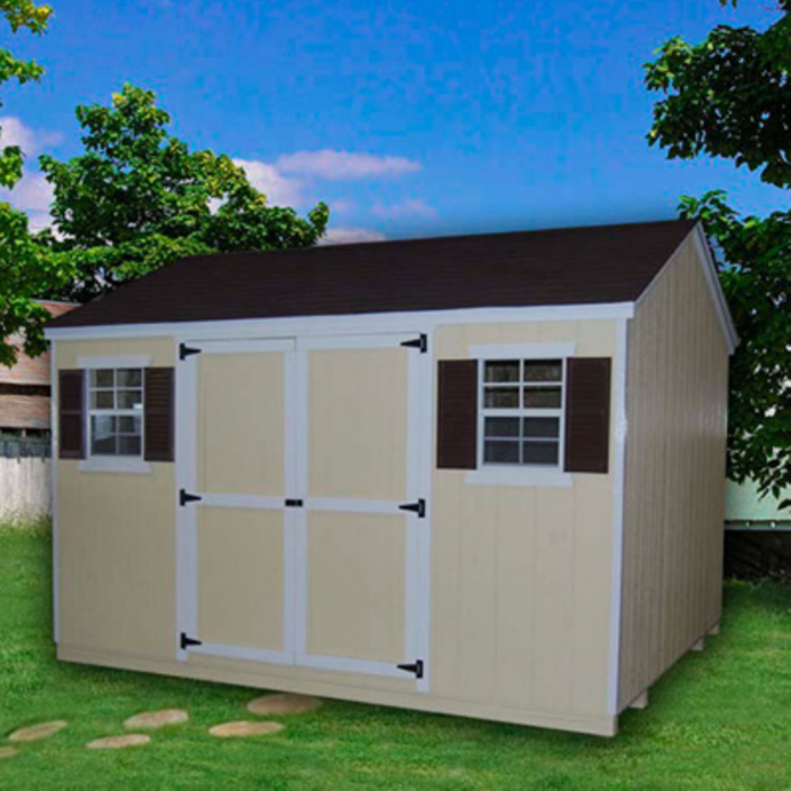 Little Cottage Value Workshop Precut Garden Shed with Optional Floor Kit