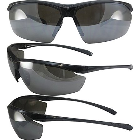 Global Vision Lt Military Approved Sunglasses Crystal Gray Frames Flash Mirror Lenses ANSI Z87.1+