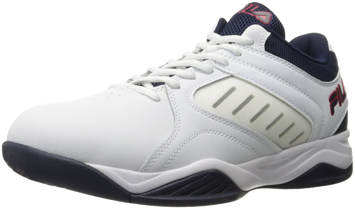 Fila BANK Mens Low Top Athletic Basketball Sneakers Shoes by Fila