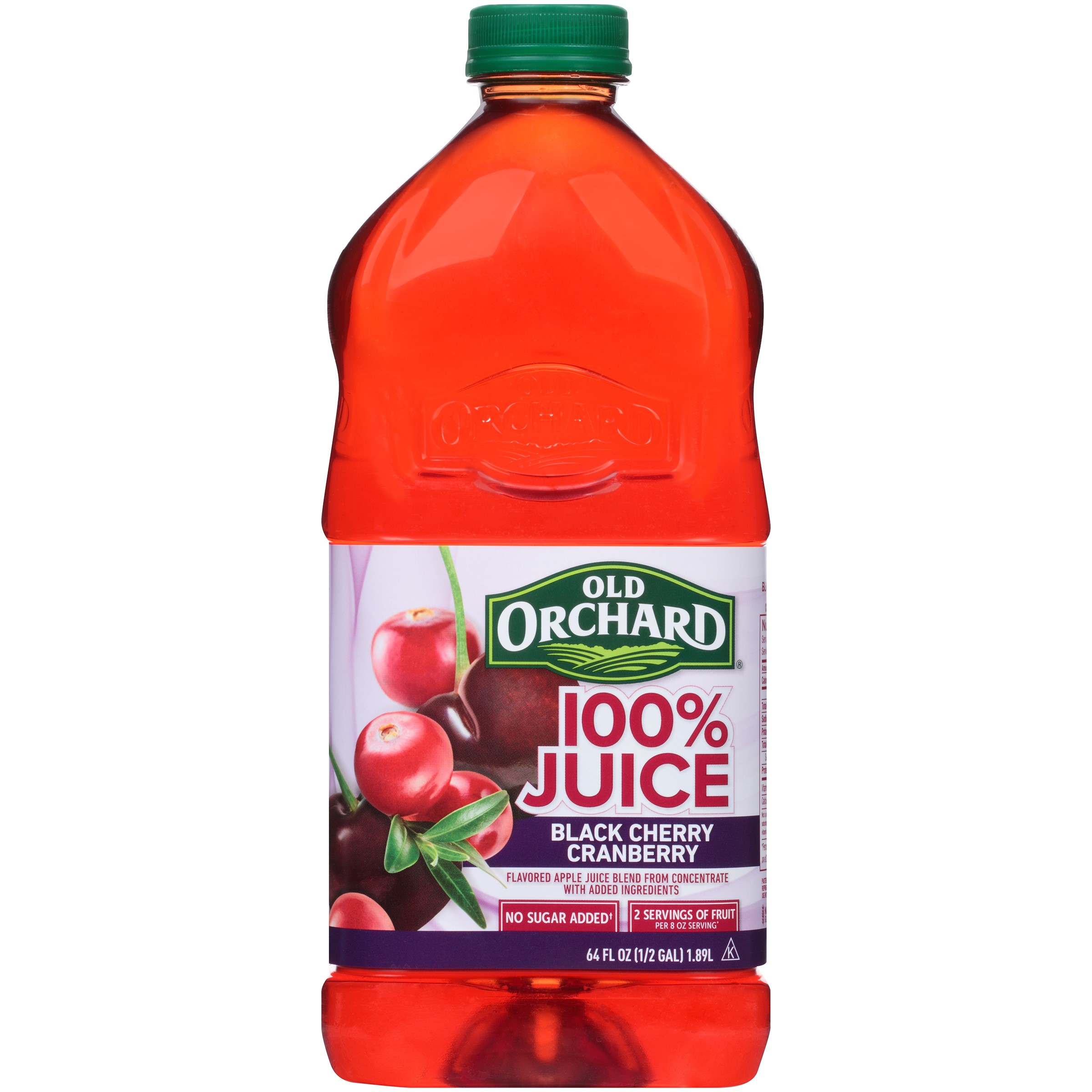 Old Orchard 100% Juice, Black Cherry Cranberry, 64 Fl Oz