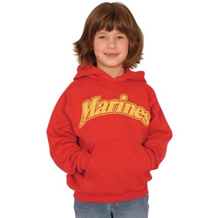 Fox Outdoor 64-8526 XL Youth Marine Pullover Hoodie, Red - Extra Large