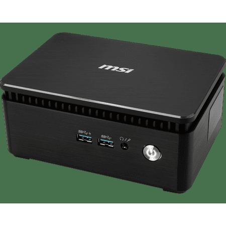(MSI Cubi 3 Silent S 020BUS Mini PC, Intel Dual-Core i5-7200U Upto 3.1GHz, 16GB DDR4, 1TB SSD Plus 1TB HDD, HDMI, Display Port, USB, Wifi, Bluetooth, Windows 10 Professional 64Bit)