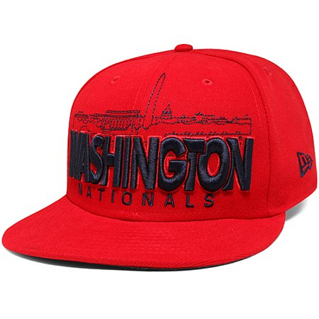 Washington Nationals New Era City Series 59FIFTY Fitted Hat - Red