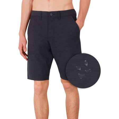 e14b49ec78 Burnside Hybrid Stretch Shorts For Mens Men Golf Boardshorts Black - 34 -  Walmart.com
