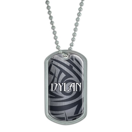 Male Names - Dylan - Dog Tag