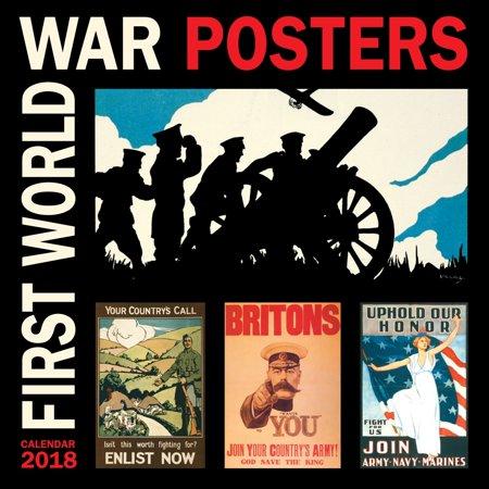 b27544ede56 2018 First World War Posters Wall Calendar