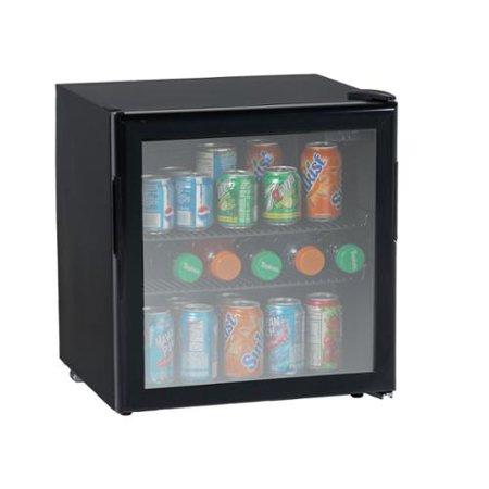 Avanti 19 Cubic Foot Beverage Cooler With Glass Door Walmart