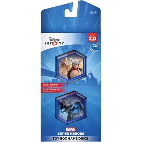 Take-Two 1207370000000 Disney Infinity - Marvel Super Heroes Toy Box Game Discs