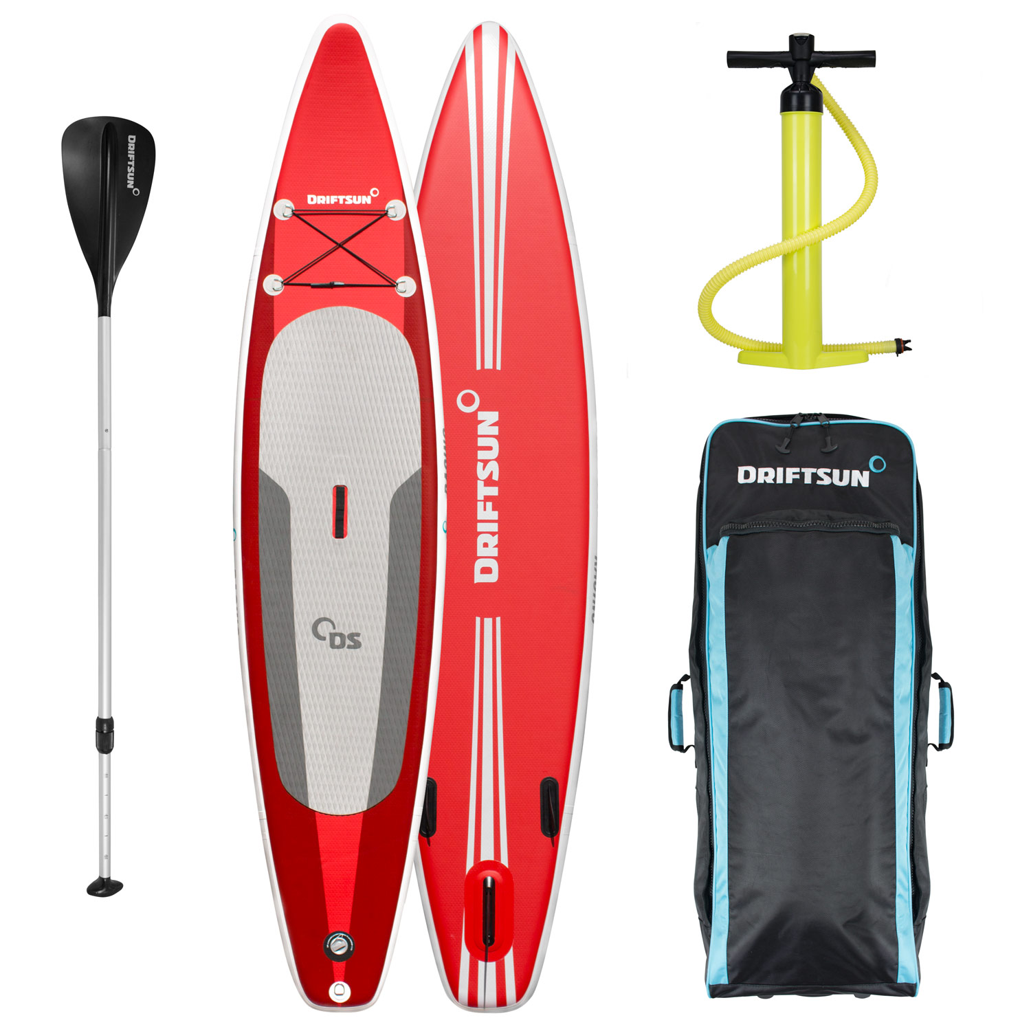"Click here to buy Driftsun Racing 12 6"" Touring SUP Inflatable Stand Up Paddle Board."