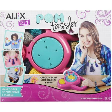 ALEX DIY Pom Tassler](Pom Pom Rug Diy)